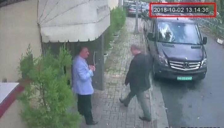 خاشقچی 1 - تصویر/ لحظه ورود جمال خاشقچی به سفارت عربستان سعودی در ترکیه