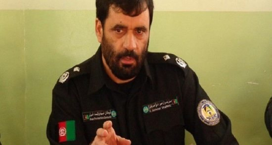 جنرال امینالله امرخیل 550x295 - هشدار قوماندان امنیه هرات به عاملان ناامنی