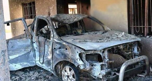 داعش 3 - انهدام مخفیگاههای داعش در سرحد عراق با اردن