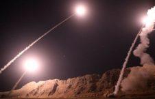 راکت 226x145 - حمله راکتی ایران به شرق فرات