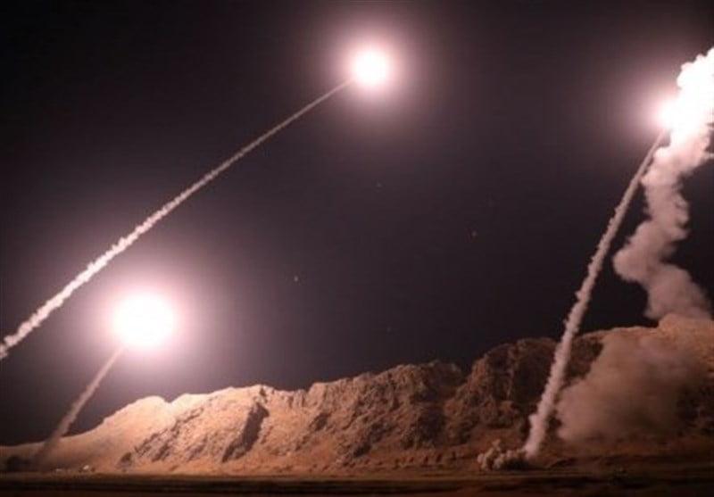 راکت - حمله راکتی ایران به شرق فرات