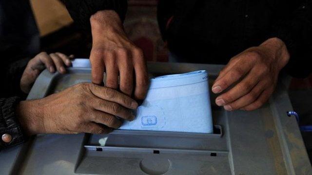 رای 4 - آرای انتخابات ولسی جرگه در کابل باطل شد