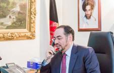 ربانی 226x145 - گفتگوی تلیفونی صلاح الدین ربانی باهمتای پاکستانی اش