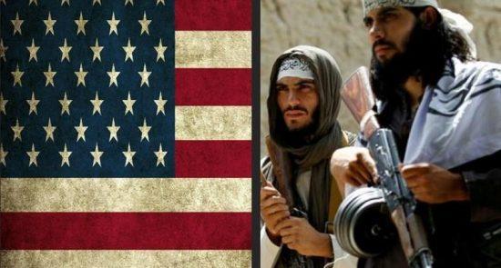 طالبان امریکا 550x295 - ادامه مذاکرات امریکا با طالبان