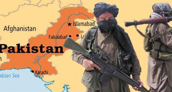 طالبان پاکستان 550x295 - نقش آی اس آی پاکستان در تداوم جنگ و خونریزی در افغانستان
