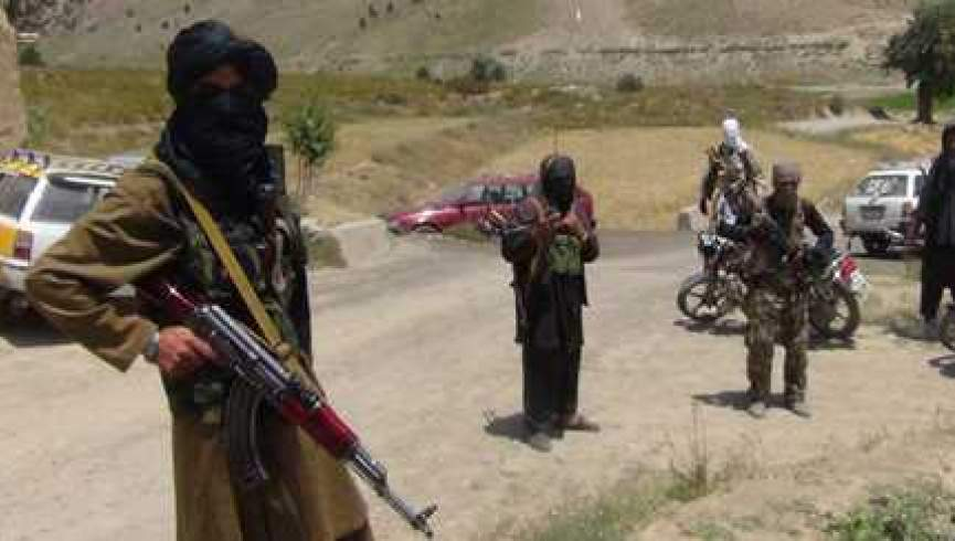 طالبان 1 - باجگیری طالبان در شاهراه کابل - بامیان