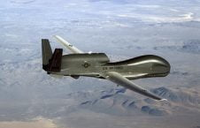 طیاره امریکا 226x145 - تصاویر/ سقوط طیاره بی پیلوت امریکایی در ولایت غور