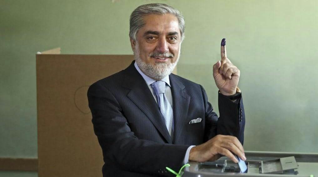 عبدالله عبدالله 1 - رهبران حکومت وحدت ملی در پای صندوق های رای!