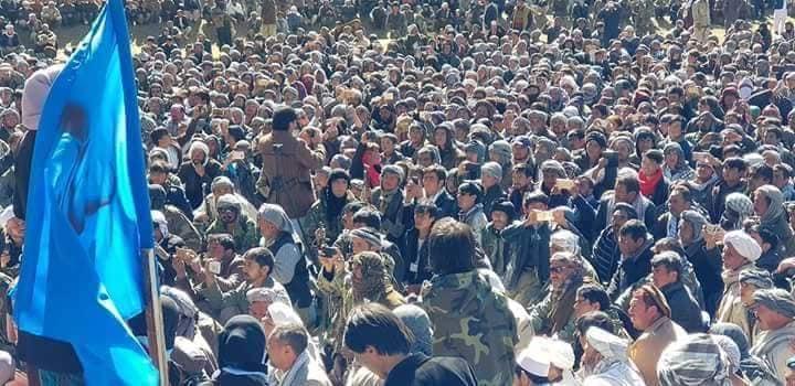 قوماندان علی پور1 - تصاویر/ حمایت هزاران نفر از مردم بهسود از قوماندان علی پور