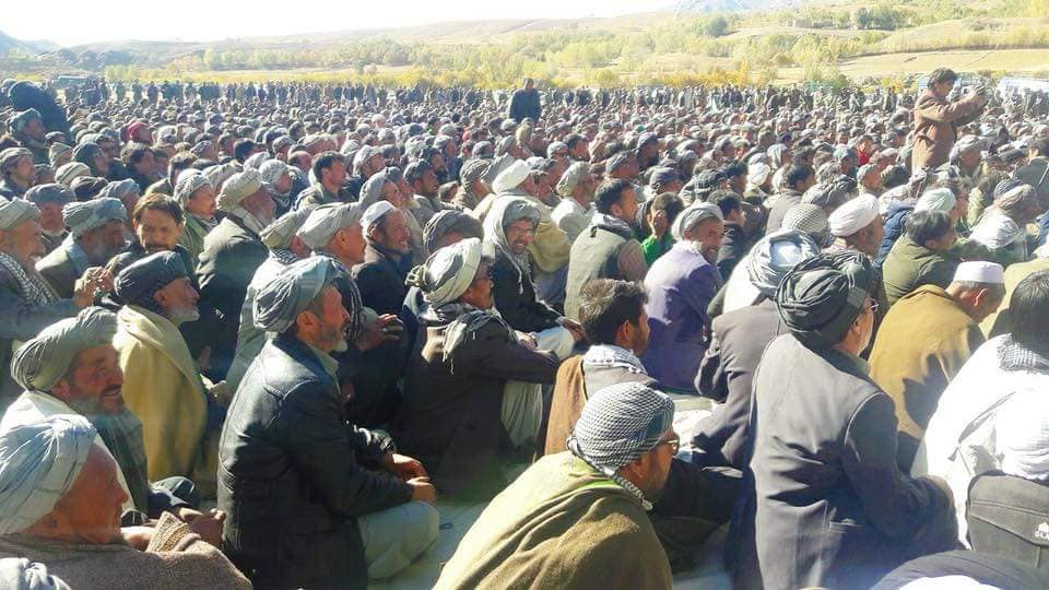 قوماندان علی پور11 - تصاویر/ حمایت هزاران نفر از مردم بهسود از قوماندان علی پور