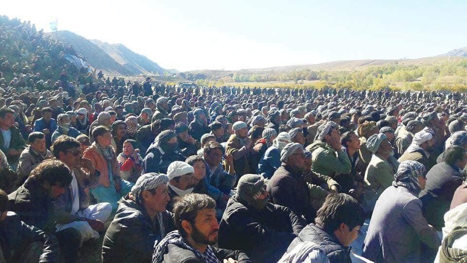 قوماندان علی پور13 - تصاویر/ حمایت هزاران نفر از مردم بهسود از قوماندان علی پور