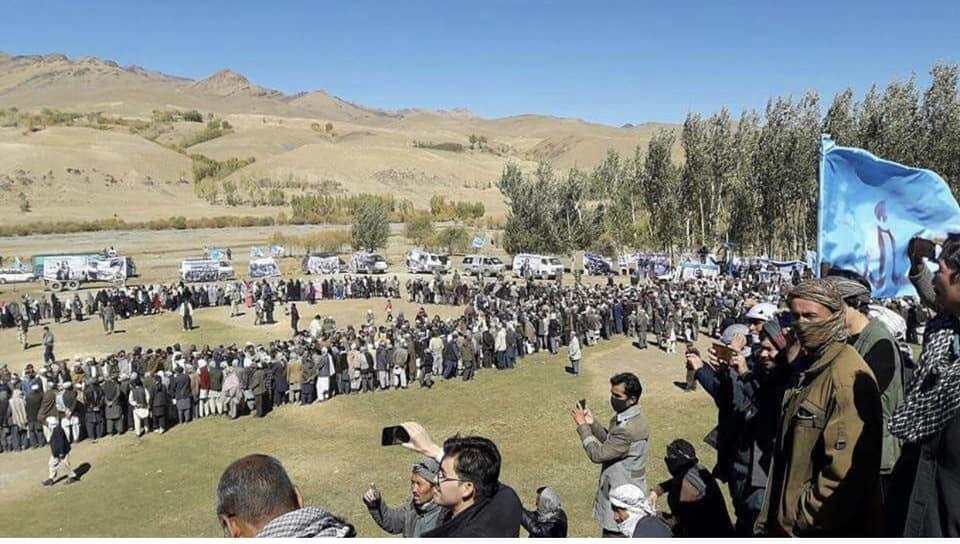قوماندان علی پور2 - تصاویر/ حمایت هزاران نفر از مردم بهسود از قوماندان علی پور