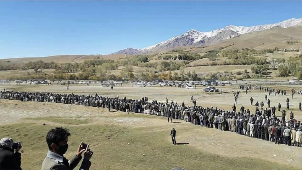 قوماندان علی پور4 - تصاویر/ حمایت هزاران نفر از مردم بهسود از قوماندان علی پور