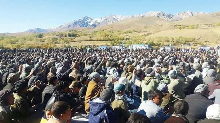 قوماندان علی پور5 - تصاویر/ حمایت هزاران نفر از مردم بهسود از قوماندان علی پور