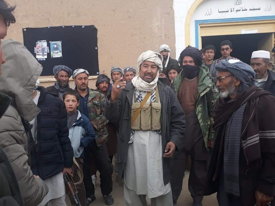 قوماندان علی پور8 - تصاویر/ حمایت هزاران نفر از مردم بهسود از قوماندان علی پور