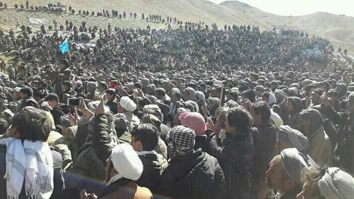 قوماندان علی پور9 - تصاویر/ حمایت هزاران نفر از مردم بهسود از قوماندان علی پور
