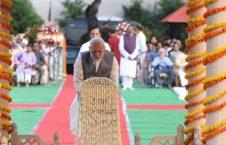 گاندی4 226x145 - تصاویر/ مراسم بزرگداشت گاندی در هند