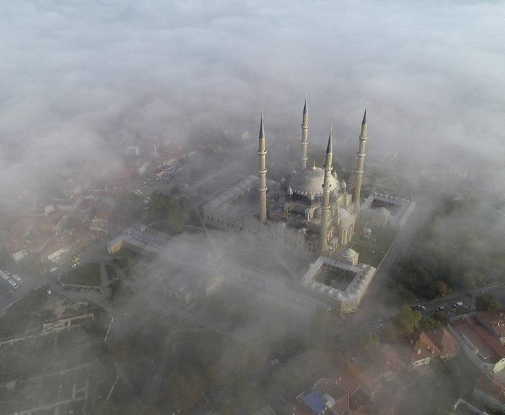مسجد سلیمیه 2 - تصاویر/ مسجدی در میان ابرها
