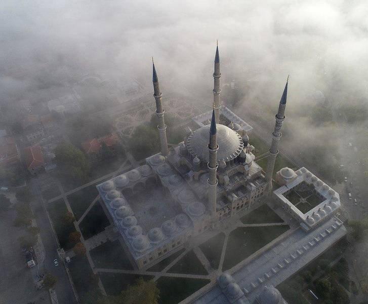 مسجد سلیمیه 3 - تصاویر/ مسجدی در میان ابرها