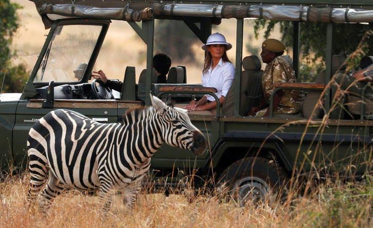 ملانیا ترمپ2 - تصاویر/ سفر جنجالی ملانیا ترمپ!