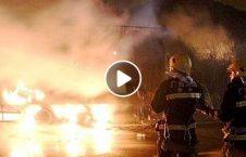ویدیو زنده سوختن سه نفر آتش 226x145 - ویدیو/ زنده سوختن سه نفر در آتش! (18+)