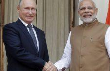 پوتین5 226x145 - تصاویر/ سفر رییس جمهور روسیه به هند