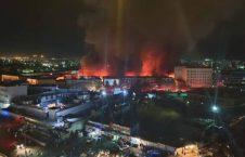 آتش سوزی 226x145 - آخرین خبرها از آتشسوزی گسترده در چهار مارکیت تجارتی در کابل