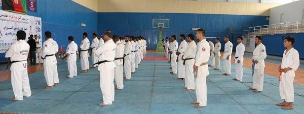 آشی هارا کاراته - اشتراک قهرمانان کاراته افغانستان در مسابقات جهانی
