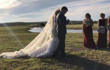 ازدواج 2 226x145 - سقوط دردناک چرخبال حامل عروس و داماد پس از جشن ازدواج! + تصاویر