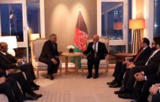 اشرف غنی ویجی کمار 226x145 - دیدار رییس جمهور غنی با وزیر دولت در امور خارجه هند