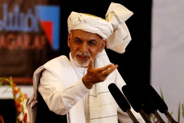 اشرف غنی 1 - مشروح سخنان رییس جمهور غنی در مراسم افتتاح راه لاجورد
