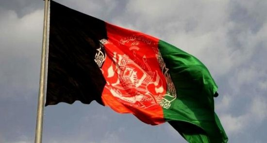 افغانستان 550x295 - اهانت پولیس پاکستان به بیرق افغانستان
