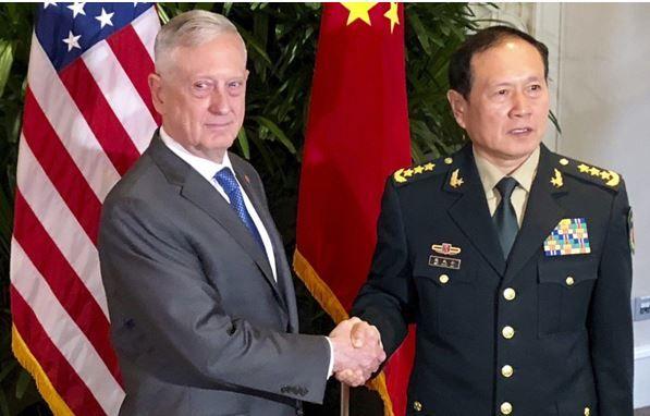 امریکا 2 - هشدار چین به ادامه حضور نظامی امریکا در تنگه تایوان