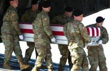 امریکا 226x145 - اعلامیه ناتو در پیوند به کشته شدن یک عسکر امریکایی در افغانستان