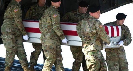 امریکا 550x295 - اعلامیه ناتو در پیوند به کشته شدن یک عسکر امریکایی در افغانستان