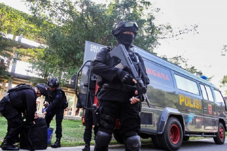 اندونزیا - کشته شدن دو عضو جماعت انصار الدوله در اندونزیا