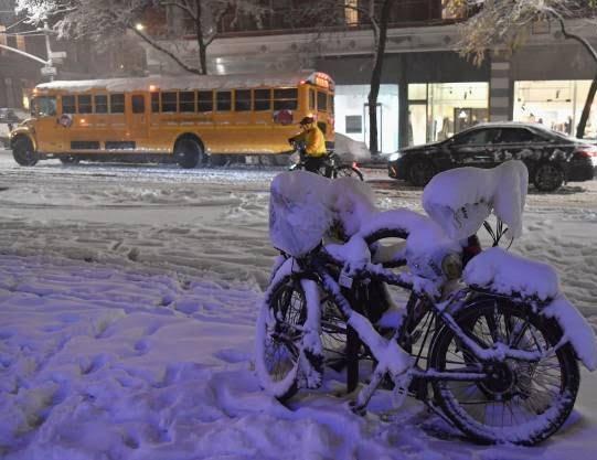 برف2 - تصاویر/ جان باختن 7 باشنده امریکایی بر اثر بارش برف