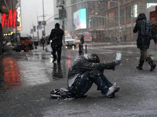 برف3 - تصاویر/ جان باختن 7 باشنده امریکایی بر اثر بارش برف
