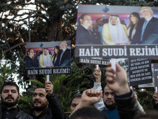ترکیه 1 - تصاویر/ اعتراض مردم ترکیه به نسل کشی عربستان در یمن