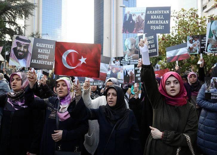 ترکیه - تصاویر/ اعتراض مردم ترکیه به نسل کشی عربستان در یمن
