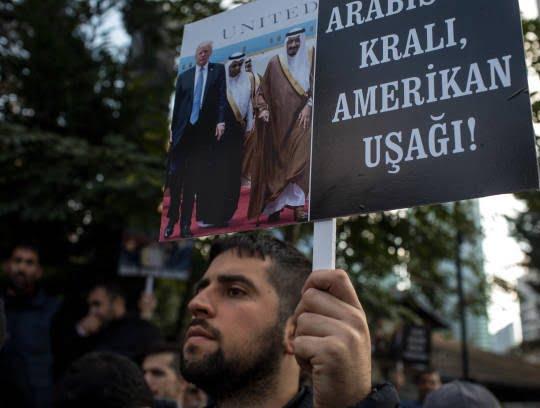 ترکیه5 - تصاویر/ اعتراض مردم ترکیه به نسل کشی عربستان در یمن