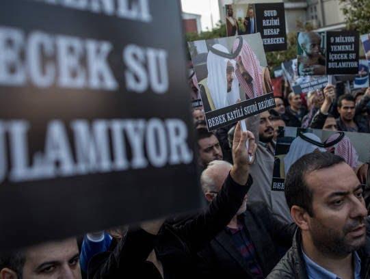 ترکیه7 - تصاویر/ اعتراض مردم ترکیه به نسل کشی عربستان در یمن