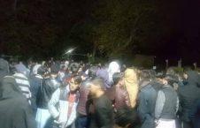 تظاهرات کابل1 226x145 - تجمع اعتراض آمیز صدها تن در اطراف ارگ ریاست جمهوری