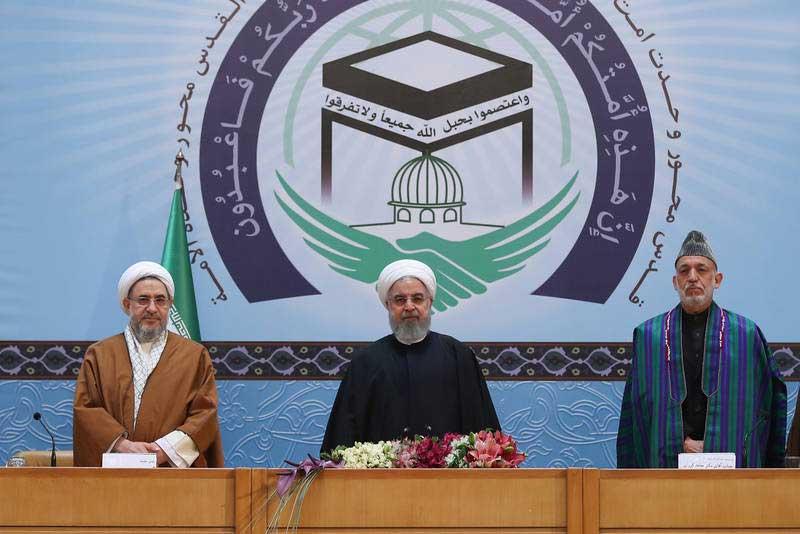 حامد کرزی 2 - تصاویر/ اشتراک حامد کرزی در کنفرانس بینالمللی وحدت اسلامی