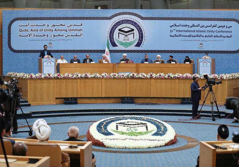 حامد کرزی 3 - تصاویر/ اشتراک حامد کرزی در کنفرانس بینالمللی وحدت اسلامی
