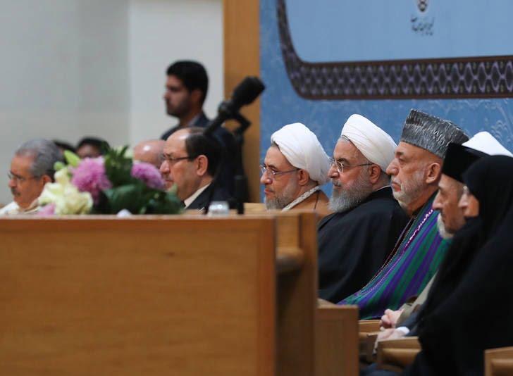 حامد کرزی 5 - تصاویر/ اشتراک حامد کرزی در کنفرانس بینالمللی وحدت اسلامی
