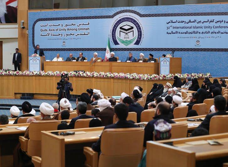 حامد کرزی 6 - تصاویر/ اشتراک حامد کرزی در کنفرانس بینالمللی وحدت اسلامی