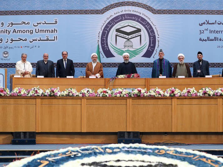 حامد کرزی 7 - تصاویر/ اشتراک حامد کرزی در کنفرانس بینالمللی وحدت اسلامی
