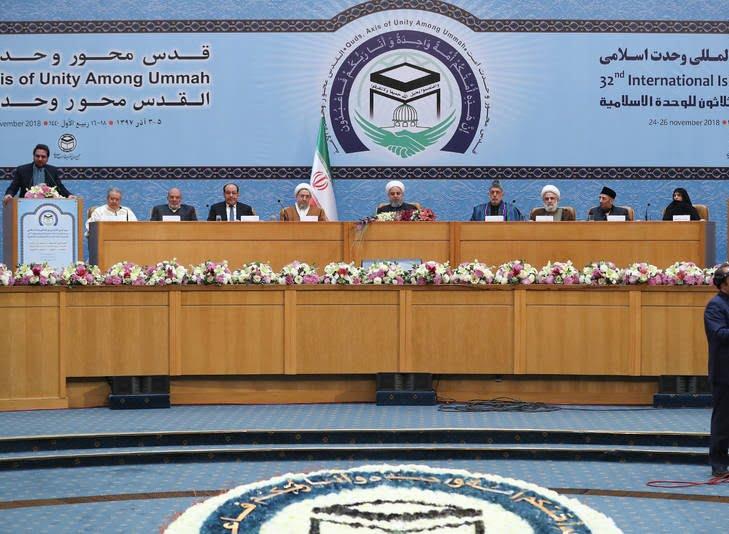 حامد کرزی 8 - تصاویر/ اشتراک حامد کرزی در کنفرانس بینالمللی وحدت اسلامی