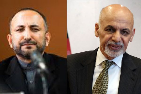 حنیف اتمر اشرف غنی - از انزوای حکومت وحدت ملی تا خسته گی رییس جمهور غنی!